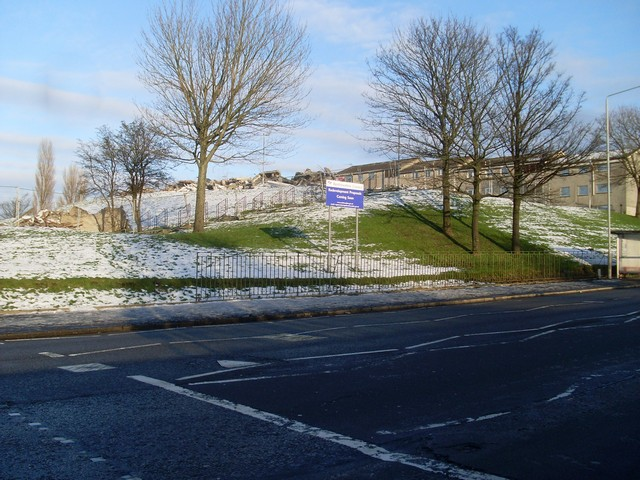Site of redevelopment, Millarston, Paisley