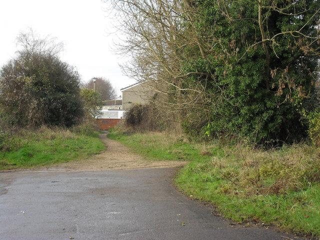 Path off Rock Close, Carterton