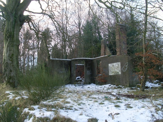 Ruined house at Leitchland