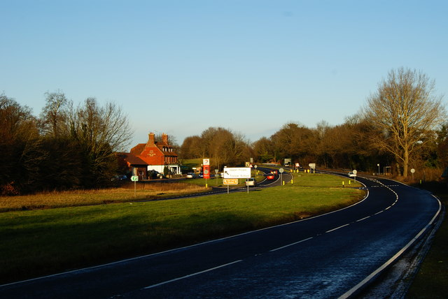 A31 at Upper Froyle, Hampshire