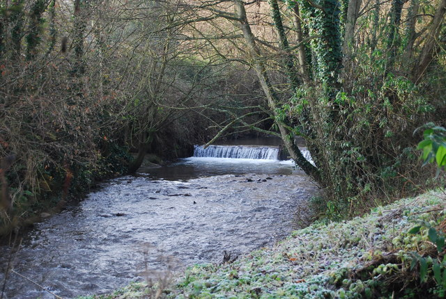 Weir on the Washford River