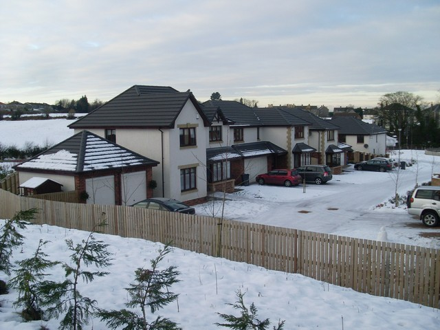 New houses between Elderslie and Glenpatrick