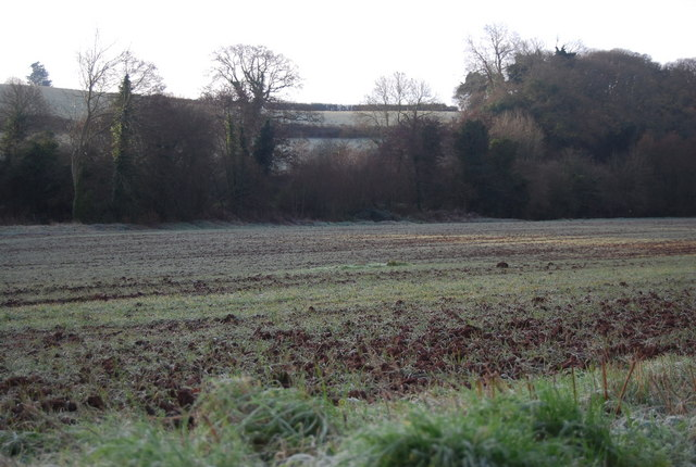 Field between the road to Lower Roadwater & The Washford River