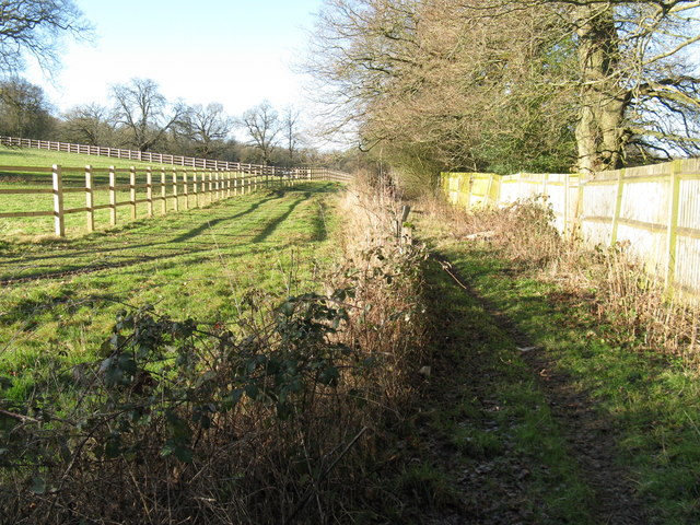 New field fencing at Bourne Hill House