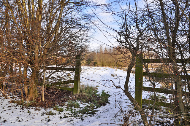 Wintergate by the River Slea - Sleaford