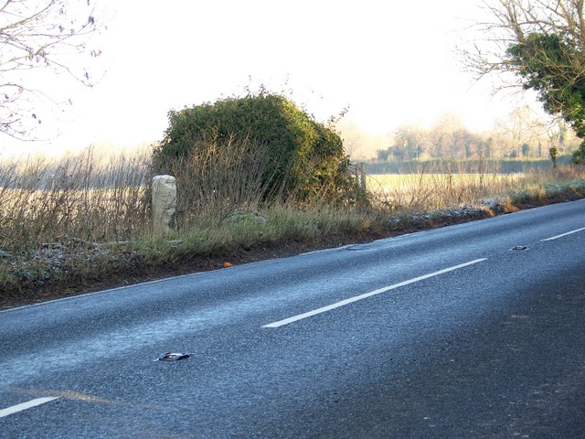 Milestone near Blandford Forum