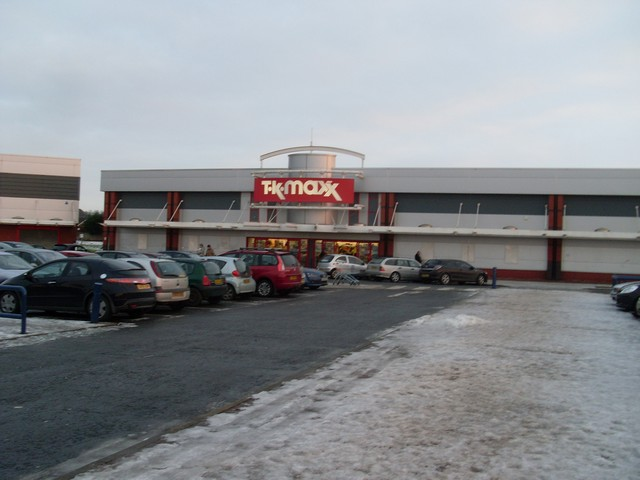 TK Maxx, Phoenix Retail Park, Linwood