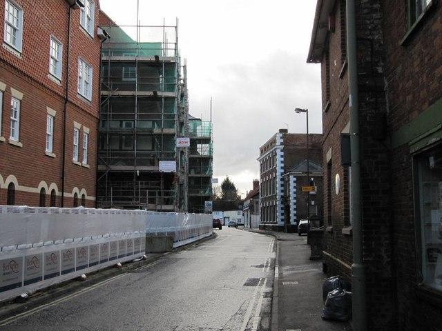 Construction on Newbury Street