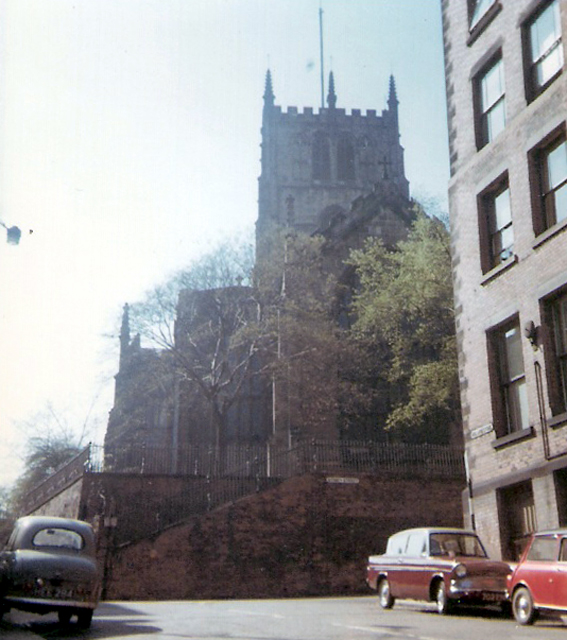 St Mary's from Hollowstone, 1967