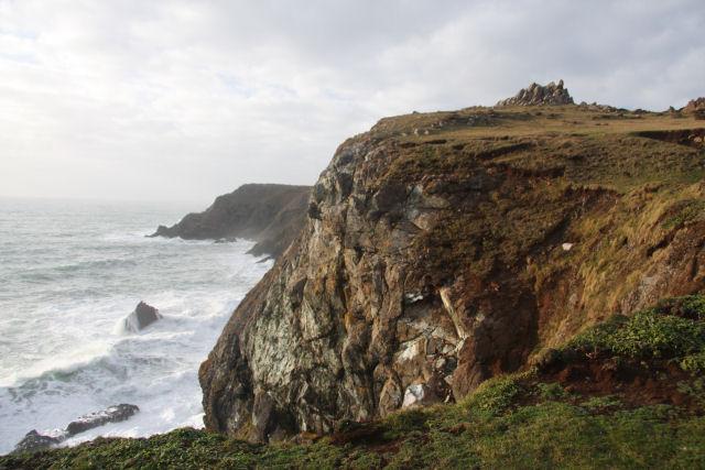 Kynance Cliff
