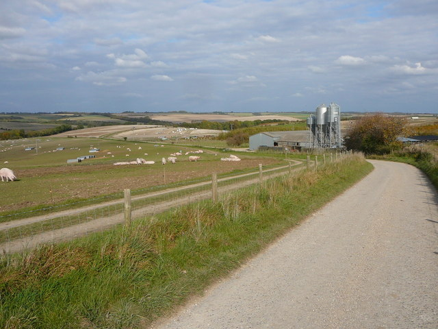 Pig Farm, Field Barn, south west of Broad Chalke