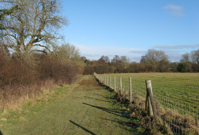 Footpath south of Chesworth House