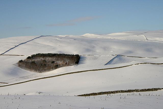 Hill farmland on Mount Skep