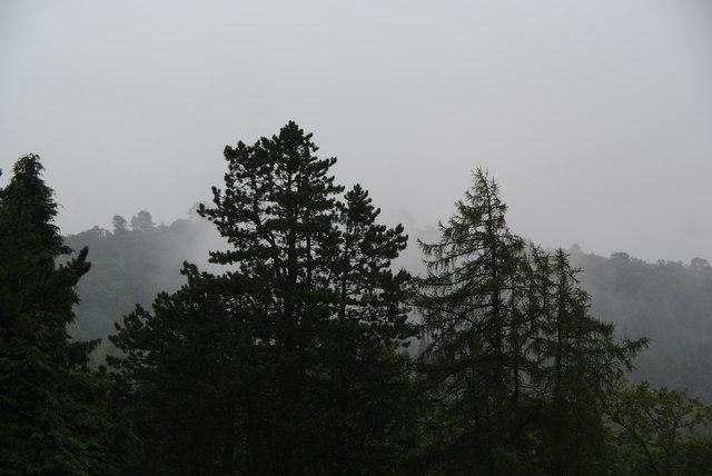 Misty morning in Eskdale