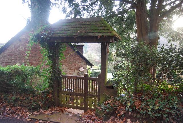 Lych Gate, St Pancras Chapel
