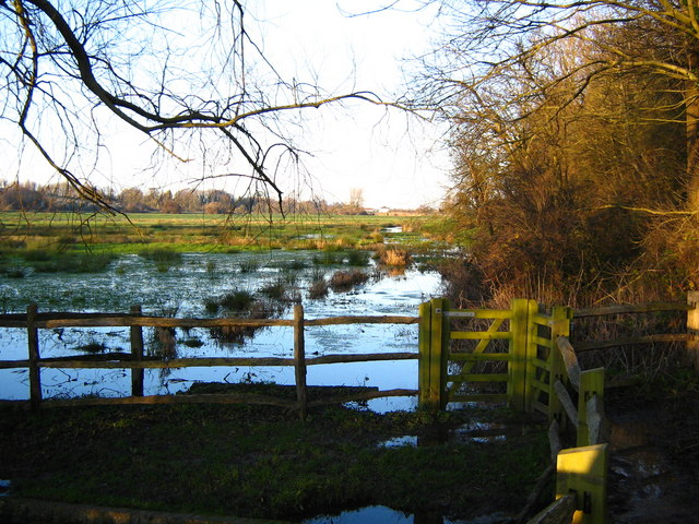 Flooded meadows, Alfriston