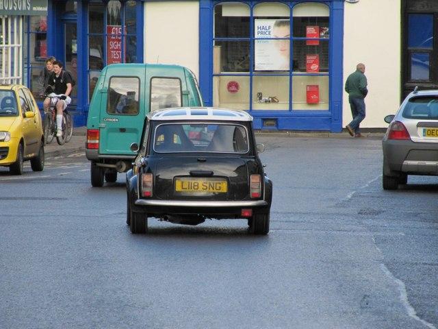 Mini on the road