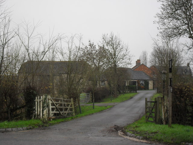 Farm beside the A40