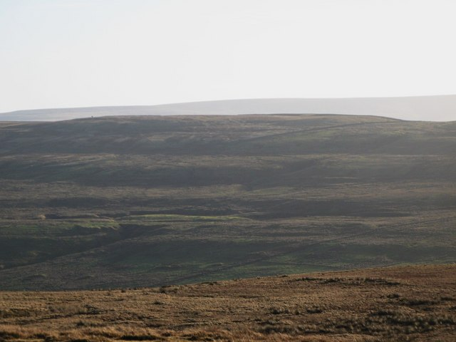 Panorama from the upper Rookhope lead smelting flue chimney (24: SSE - Windy Hill)