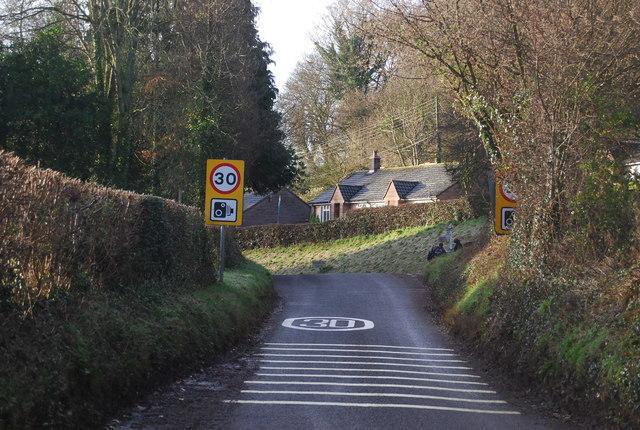 Approaching Lower Roadwater