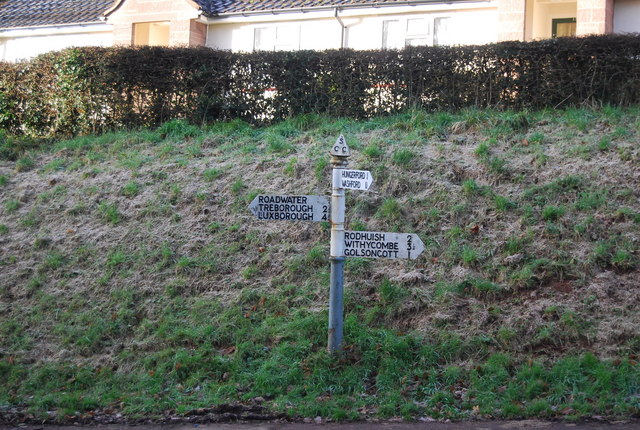 Sign post, Lower Roadwater