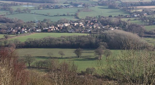 Upper Welland from the Malvern Hills