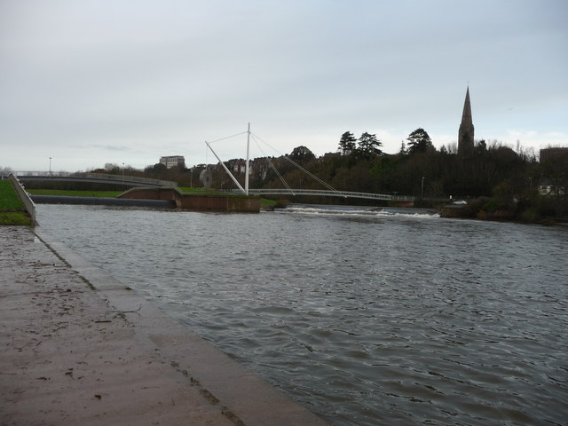 Exeter : The River Exe & Bridges
