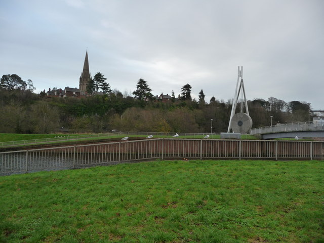 Exeter : River Exe & Millers Crossing