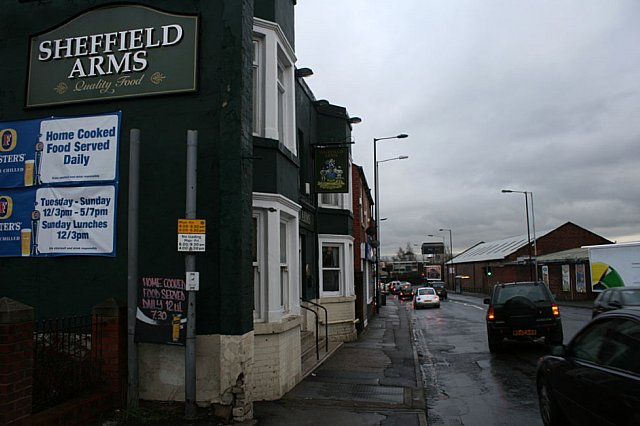 The Sheffield Arms, Upwell Street
