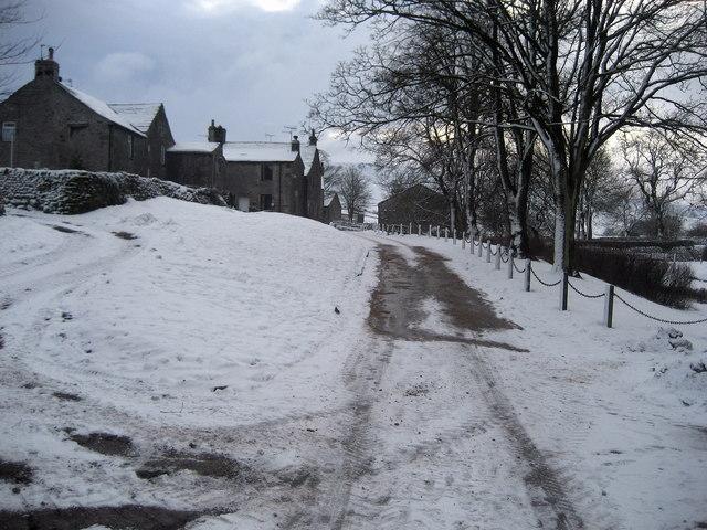 Snow in Linton