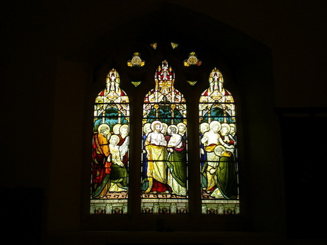 Parish Church of St Thomas the Apostle, Claremont, Stained glass window