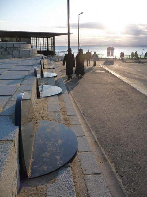Boscombe: four marble seats