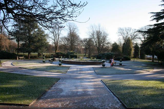 Formal garden, Bridgford Park