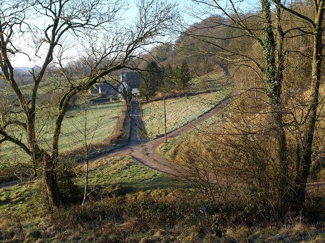 Lane to Fernley Farm