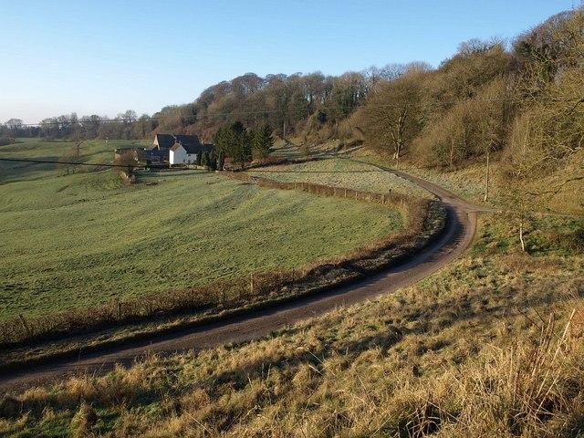 Towards Fernley Farm