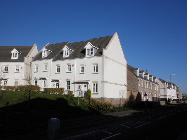 New flats, on Beacon Park Road