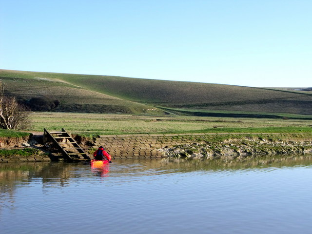Cuckmere canal, East Sussex