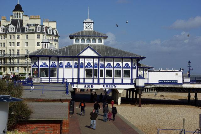Eastbourne Pier shore end
