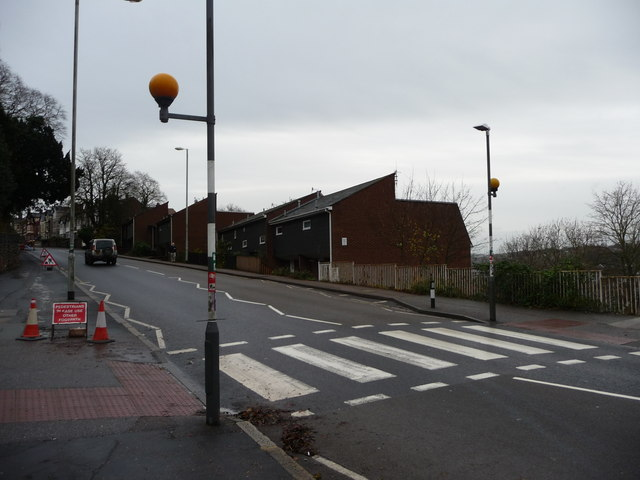 Exeter : St David's Hill Zebra Crossing