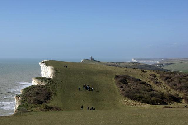 Cliff top walk, Beachy Head