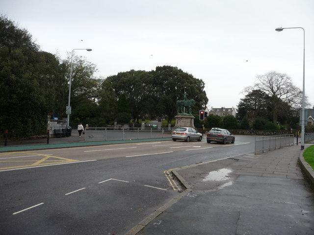 Exeter : Hele Road & Road Junction