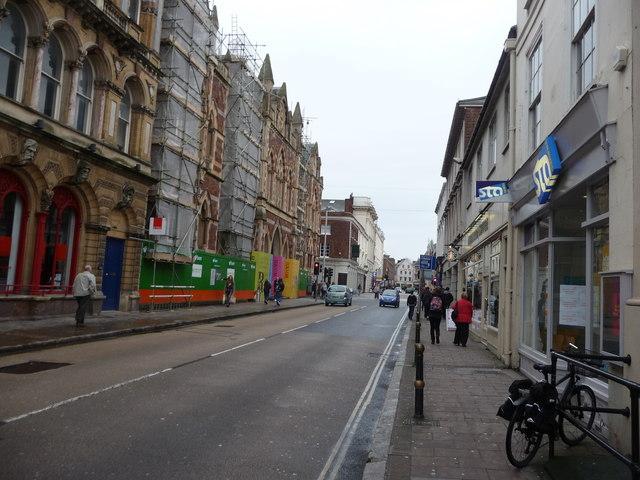 Exeter : Queens Street