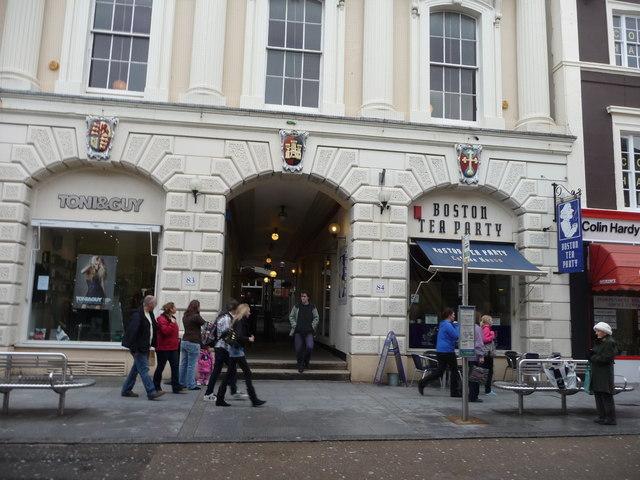 Exeter : Toni&Guy and Boston Tea Party