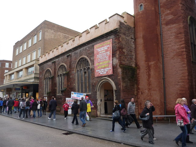 Exeter : St Stephen's Church