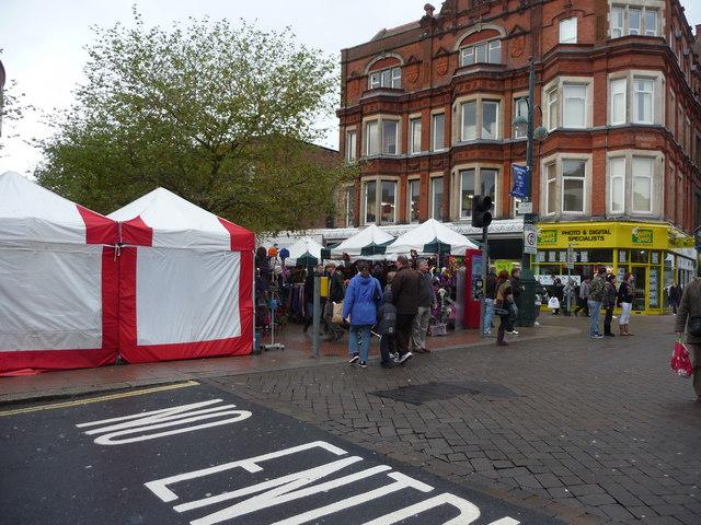 Exeter : South Street & Stalls