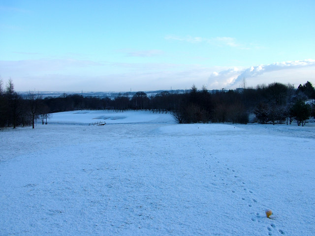 The 6th hole at Normanton Golf Club