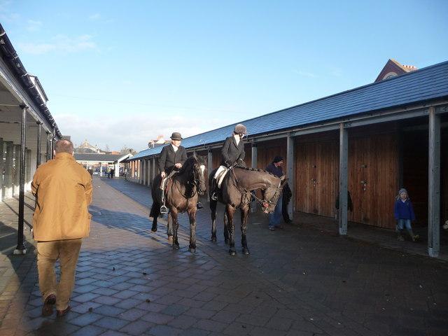 Tiverton : Boxing Day Horses 2009