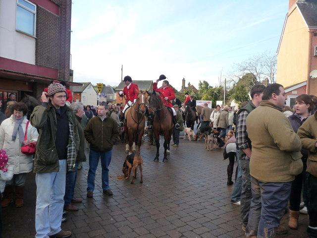 Tiverton : Boxing Day & Tiverton Foxhounds