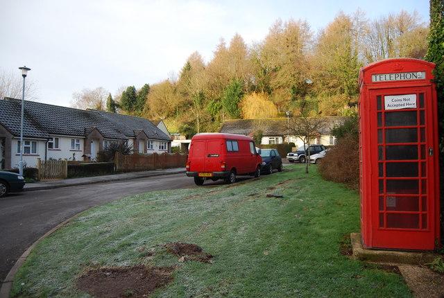 Telephone Box, Lower Roadwater