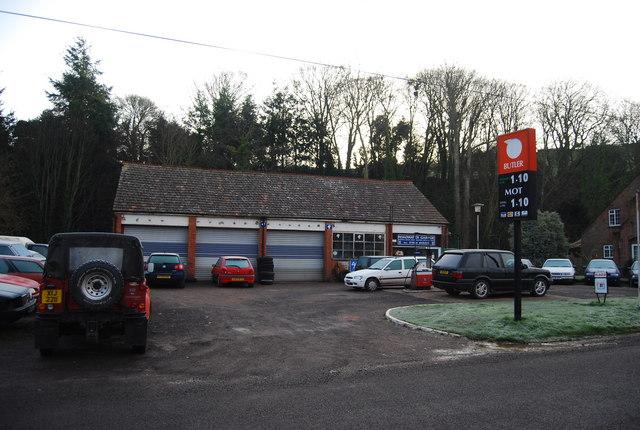 Garage & filling station, Lower Roadwater